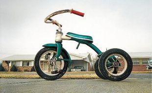 Tricycle de William Eggleston (1970) a été adjugé 578500dollars lors d'une vente en mars.