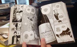 Dans le tome 35 du manga «Les Gouttes de Dieu», sept bouteilles de vins d'Alsace sont dégustées.
