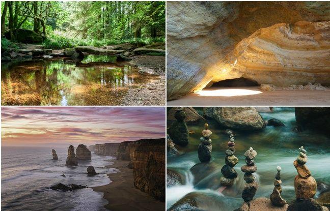 Falaises, pierres précieuses et «stone balancing»... Vous nous avez envoyé vos plus belles photos minérales
