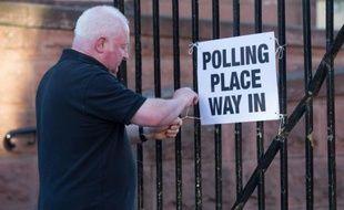 Un bureau de vote à Glasgow le 23 juin 2016