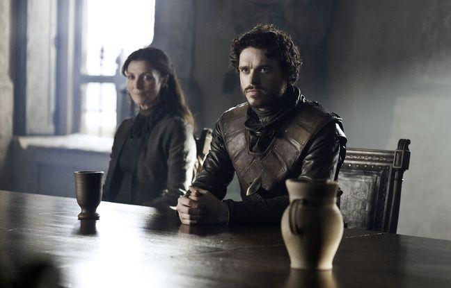 Catelyn et Robb Stark dans Game of Thrones