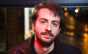 William Martinet, le president de l'Unef. AFP / Geoffroy Van der Hasselt