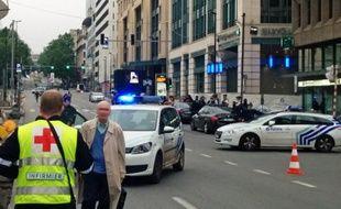 Une alerte à la bombe a été déclenchée mardi matin dans un centre commercial du centre de Bruxelles