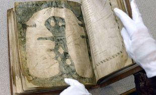 La Mappa Mundi d'Albi, carte du VIIIe siècle inscrite au Registre international de la mémoire du monde de l'Unesco.