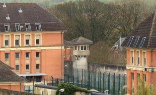 La prison de Montmédy, dans l'est de la France, où des détenus ont pris en otage un moniteur sportif le 4 avril 2014
