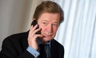 Maurice Lantourne, l'avocat de Bernard Tapie, le 11 janvier 2012 à Paris.