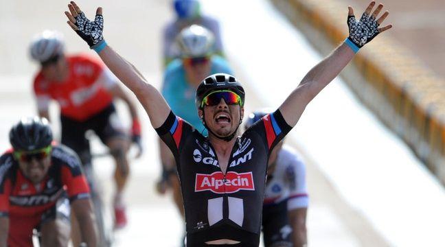 Le cycliste John Degenkolb sauve Paris-Roubaix juniors de la disparition