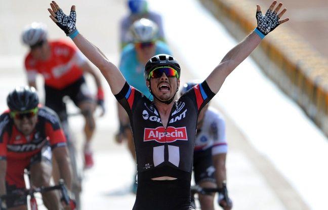 Grande classe: En récoltant 10000euros, le cycliste John Degenkolb sauve Paris-Roubaix juniors de la disparition