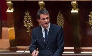 Manuel Valls s'est exprimé à l'Assemblée nationale le 16 septembre 2015.