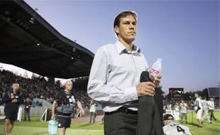 Rudi Garcia, l'entraîneur du Losc, a imposé à son équipe un rythme de travail soutenu.