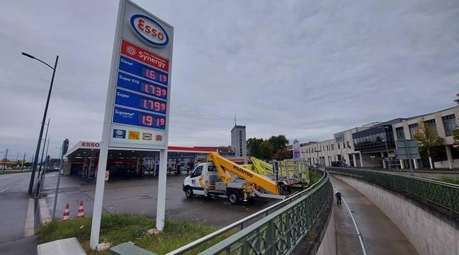 Prix des carburants : « Pas moins cher ici ! »… Les prix à la pompe de l'autre côté de la frontière n'attirent plus