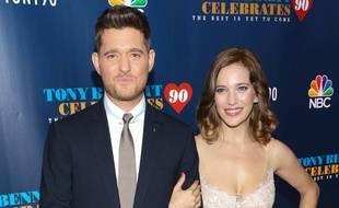 Le chanteur Michael Bublé et sa femme Luisana Lopilato