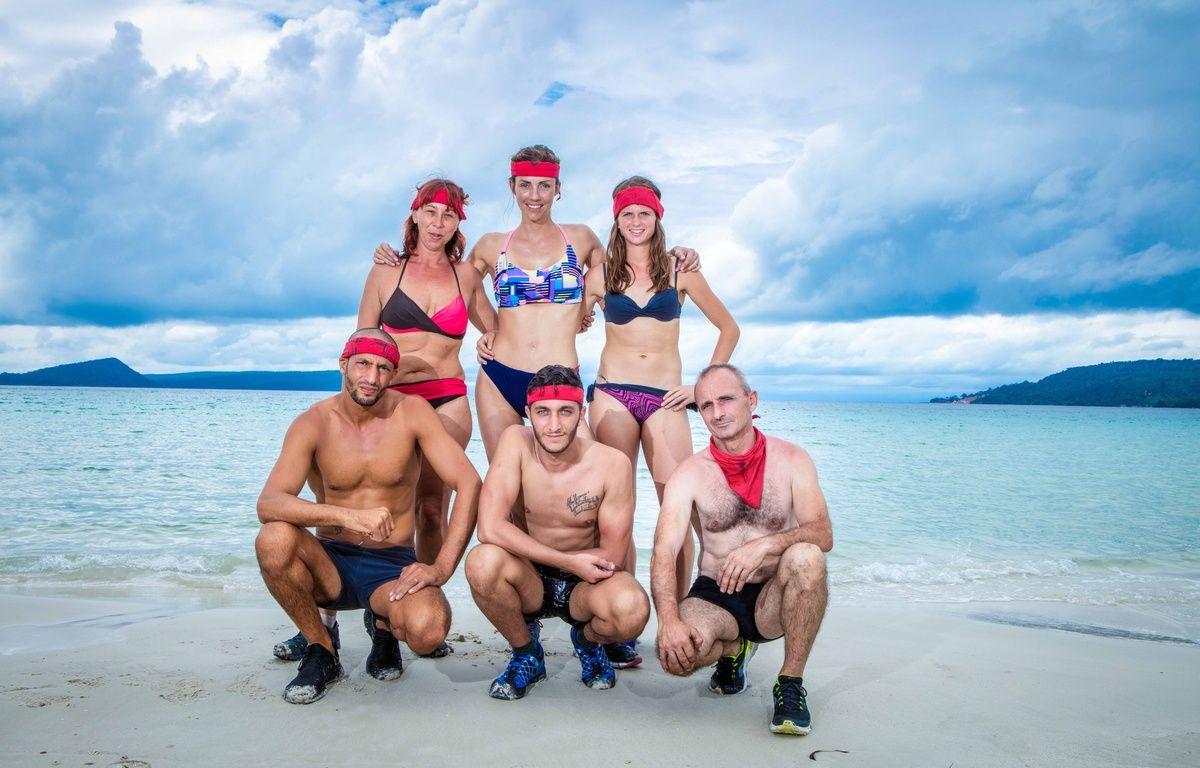 L'équipe des rouges dans Koh Lanta 2017 – TF1