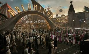 Le parc d'attractions dans « Dumbo » de Tim Burton.