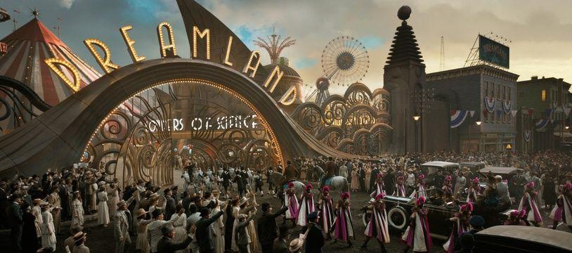 Le parc d'attractions dans «Dumbo» de Tim Burton