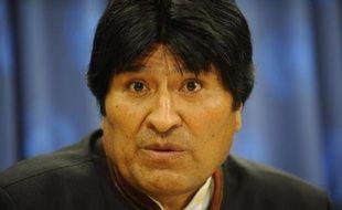 """Le président bolivien, Evo Morales, a annulé lundi un programme chargé, en raison """"d'un problème respiratoire compliqué"""", a indiqué le vice-président Alvaro Garcia."""