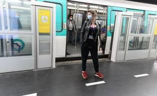 Il faudra être masqué et surtout avoir son attestation pour pouvoir utiliser le métro à partir du 11 mai.