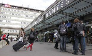 La gare de Nantes (illustration).