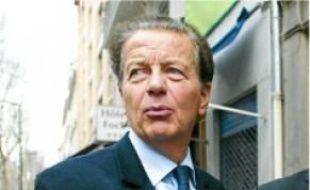 Le député Dominique Perben.