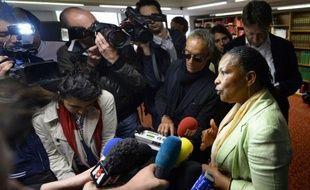 """Le Syndicat de la magistrature (SM) accuse Christiane Taubira de s'en prendre à la """"liberté d'opinion des syndicalistes"""" en saisissant le Conseil supérieur de la magistrature (CSM) de l'affaire de son """"mur des cons"""", dans une lettre ouverte à la ministre de la Justice."""