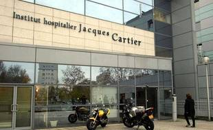 L'Institut hospitalier Jacques-Cartier de Massy (Essonne), le 18 novembre 2002.