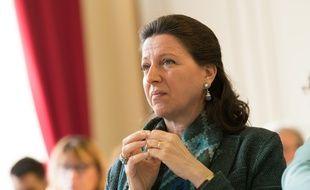 Agnès Buzyn, le 3 avril 2018 à Paris.