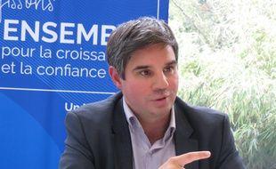 Yann Orpin, président du Medef Lille Métropole.