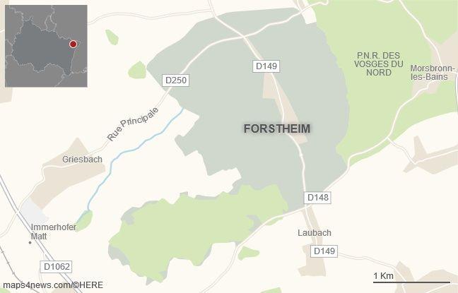 La commune de Forstheim, dans le Bas-Rhin.
