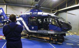 Un hélicoptère de la gendarmerie. (Illustration)