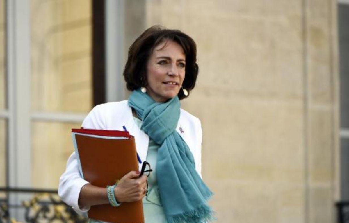 La ministre de la Santé Marisol Touraine le 25 septembre 2014 à Paris –  AFP