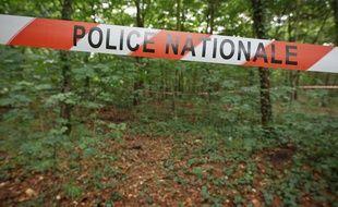 Une scène de crime. (Illustration)