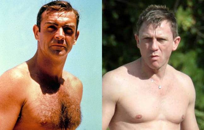 Au fil des ans, James Bond a pris du muscle.
