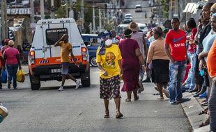 Une rue de Johannesburg en Afrique du Sud, le 15 avril 2020.
