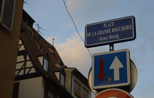 La fameuse place de la Grande Boucherie.