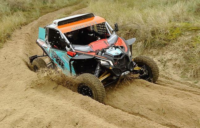 C'est ce buggy qu'Axel Alletru pilotera pendant le Dakar