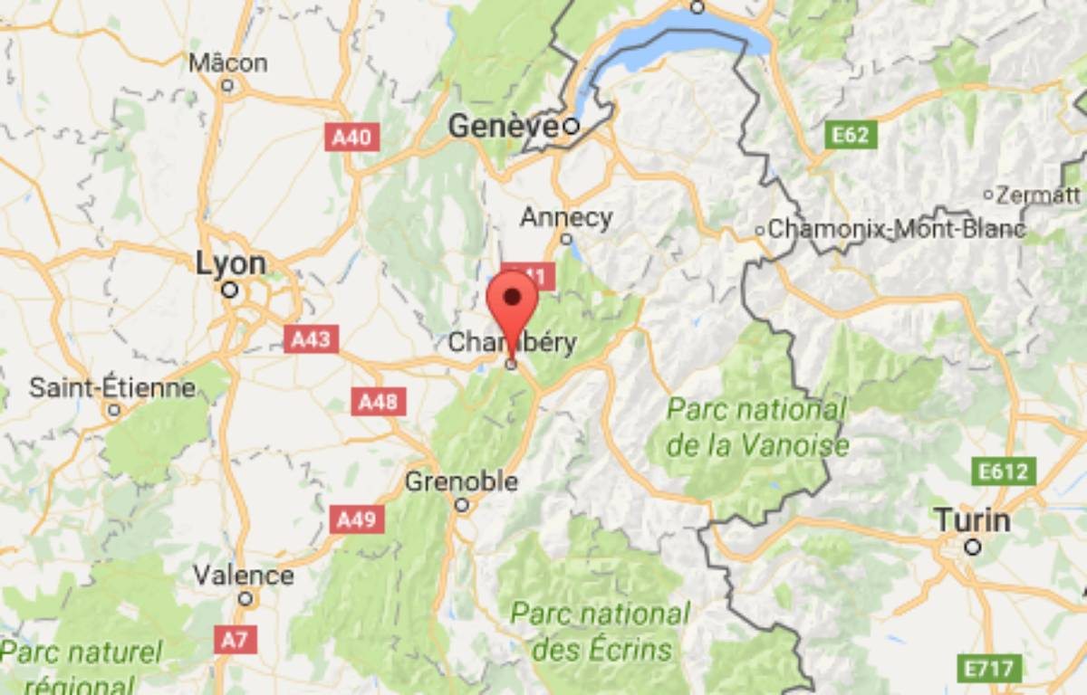 L'agression s'est déroulée dans un restaurant de Chambéry. – Capture écran