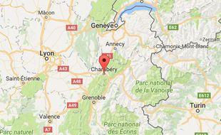 L'agression s'est déroulée dans un restaurant de Chambéry.