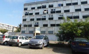 Le 1er octobre 2014 à Vénissieux. Dans ces immeubles gérés par le bailleur social de Vénissieux, La Sacoviv, rue des Martyrs de la Résistance, plusieurs familles sont infestées de punaises de lit et n'arrivent pas à s'en débarrasser.