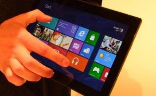 La tablette Surface de Microsoft devrait sortir à l'automne 2012.