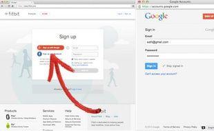 Google a lancé Google+ Sign-In, un service d'identification en ligne, le 26 février 2013.