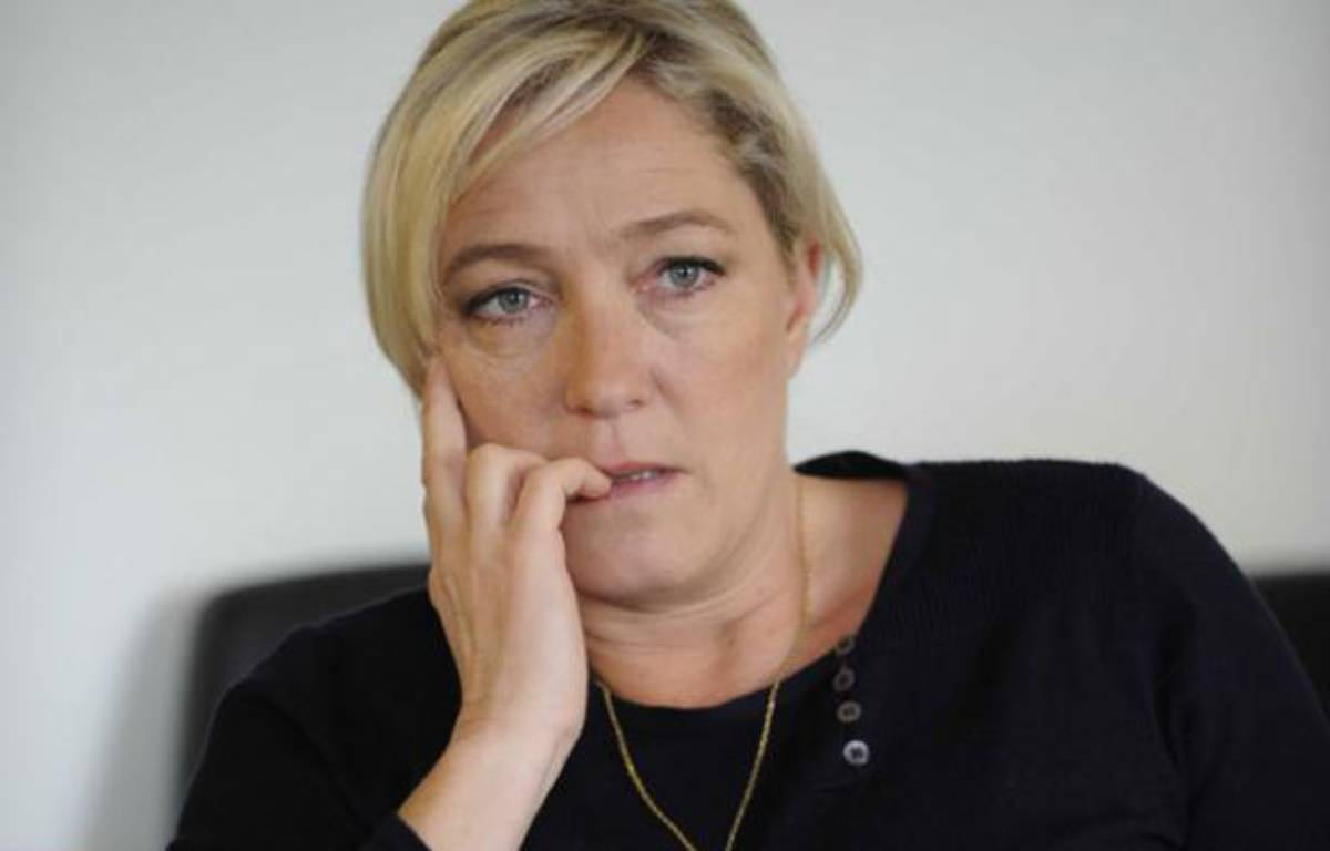 Marine Le Pen – P. RODRIGUEZ / SIPA