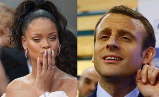 Rihanna et Macron
