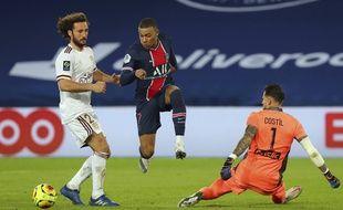 Mbappé a manqué de précision contre Bordeaux