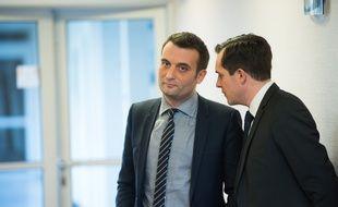 Florian Philippot, le vice-président du Front national, à Nanterre le 6 février 2015.