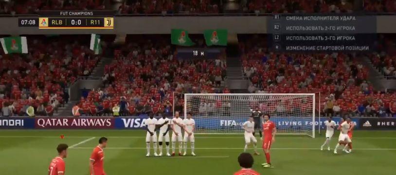 Un extrait du jeu Fifa 19