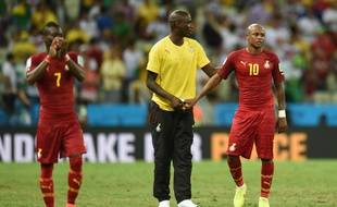Le Ghana face à l'Allemagne, le 21 juin 2014.
