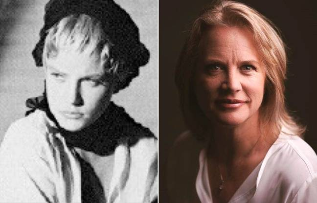 Lisa Kauffmann au début des années 1980 et en 2019.
