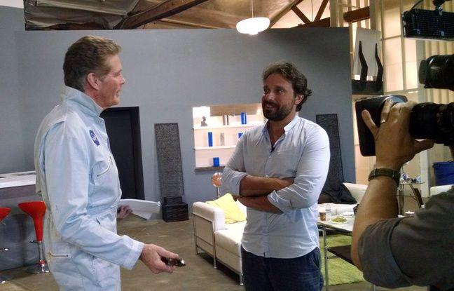 Rencontre entre Bruno Salomone et à David Hasselhoff, qui seront en juillet à l'affiche de «Sharknado 3».