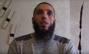 Capture d'écran d'une vidéo de l'imam de Brest Rachid Abou Houdeyfa.
