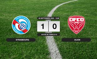 RC Strasbourg - Dijon: Succès 1-0 du RC Strasbourg face à Dijon
